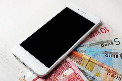 Abonnement met telefoon uitgestelde betaling