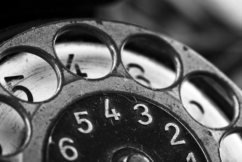 de eerste telefoon